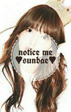 Notice Me, Sunbae by lovefinite87