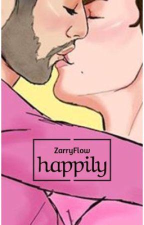 Happily. (MPREG)  by ZarryFlow