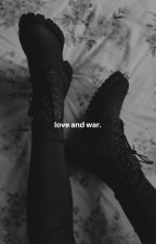 LOVE AND WAR. ( klaus mikaelson ) by -lilacprints