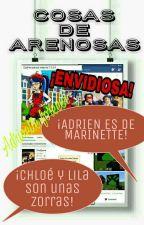 La arena de Miraculous Ladybug by loveandlive89