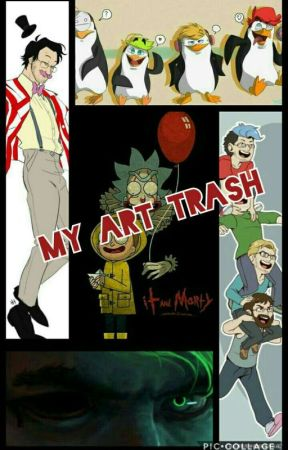 My Art Trash by Wafflelord221