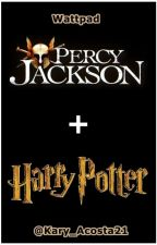 Percy Jackson + Harry Potter by KaryAcosta_