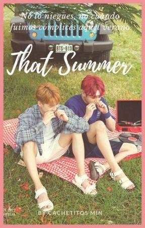 That summer  (JiKook) by CachetitosMin