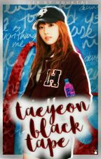 taeyeon black tape by TAEXCITAD0