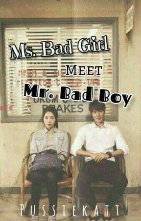 Ms.BadGirl Meet Mr.BadBoy[MinShin] (OnGoing) by Yanxxiechie7