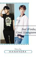 Bad Wonho, Good Hyungwon | Shin Wonho & Chae Hyungwon (Monsta X) by minmungie11