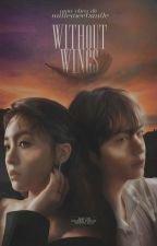 """""""without wings"""" + taehyung by millemeetsmile"""
