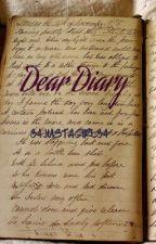 Dear Diary by adharanayar