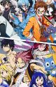 Servamp and fairytail crossover by Servamplover