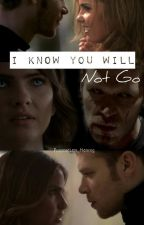 I Know You Will Not Go (Klaus&Malia -Klalia) by PurposeLess_Hennig
