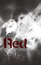 Red Lightning Strike by styleshair68