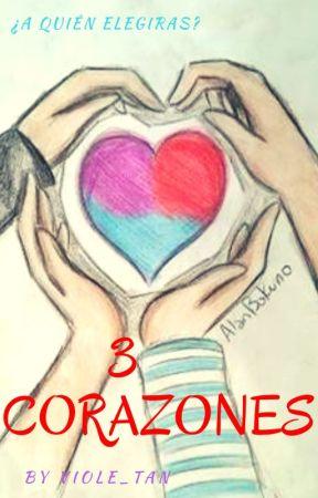 """""""3 Corazones"""" by VioletFNAFHS"""