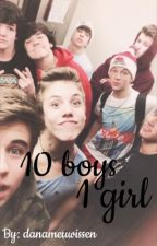 1 Girl 10 Boys || Magcon  by shawnstears_