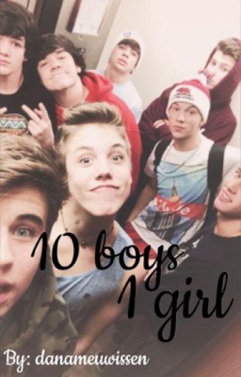 10 boys 1 Girl