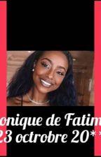 Chronique de Fatim : le 23 octobre 20**. /EN PAUSE/ by Yokmra