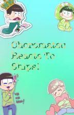 Choromatsu Reacts To Ships! by Choromatsu_Matsuno