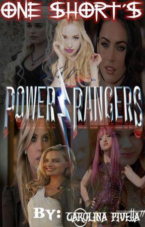 power rangers one short's by CarolinaPivetta