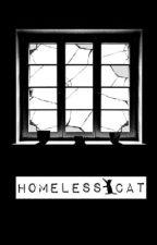 Homeless Cat.قط مشرد|Larry by Fllawlless