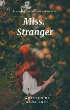 Miss Stranger by aanavats01