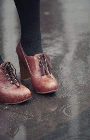 aziz am in the rain by Juwairiahomar
