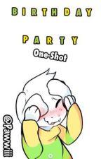 ¡Birthday Party!  [Asriel x Lectora] ||One-Shot|| by Pawwiii