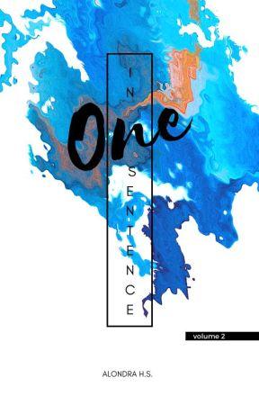 One Sentence Vol. 2 [ #Wattys2017 ] by FujoshiiPanda-kun