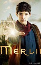 Golden (Merlin x reader)  by stressedandobssessed