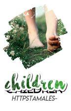 Children | Mai x Golden | FNAFHS | AU | Infancia #1 by UnaCxrolinaMas