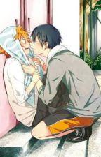 Hinata x Kageyama 1 by Anime_Mae2s
