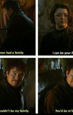 """Yo puedo ser tu familia"" Gendry x Arya by Jonas-Lawliet"