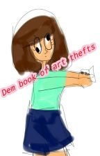 The book of art theffs (Haters etc) by _iiRimaii__
