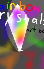 Rainbow Crystals ||Art Book 7|| by ShadowFlight_Draws