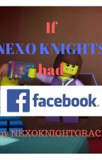 If the NEXO Knights had Facebook by NexoKnightGrace
