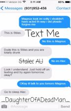 Text Me by _DaughterOfADeadMan_