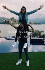 Mica Suarez y Julian Serrano  Instagram by BabyQueen__