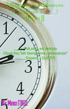 MI tiempo,me perteneces (Clockwork x ______) || Yuri || by Homicidial123