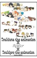 Tsukiuta the animation × Reader by izzah188