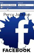 Percy Jackson- Facebook by 31Hoops