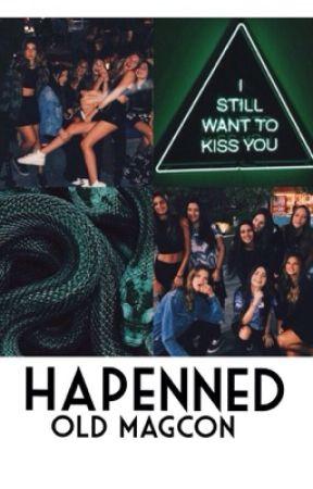 happened • old magcon by hayesfeatme