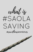 What is #SAOLASAVING ? by savetheasianunicorns