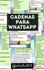 Cadenas Para WhatsApp 😊 by mimiluli03
