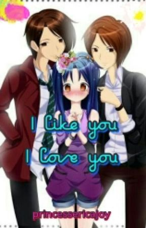 I like you I love you by darkwintergirl