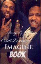 August Alsina&Odell Beckham Imagine Book by ALSINAxCURRY