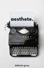 aesthete. | ✔️ by the-wallflower-girl