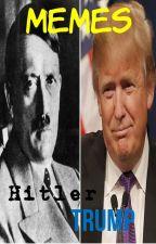 memes de Hitler y Donald Trump. by onielmisterio