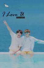 I Love U || Kook+Tae by fullertaesel