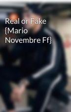 Real or Fake {Mario Novembre Ff} by auroraCmr