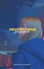 Piece of paper. ➶ Jeon Jungkook  by hopeblivion