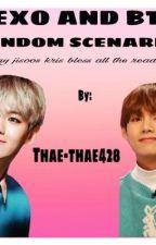 EXO and BTS random scenarios( ͡° ͜ʖ ͡°) by thae_thae428