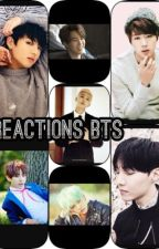 Reaction/imagine/message BTS #1 by TANNAREAD